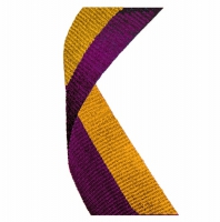 Medal Ribbon Maroon & Gold Maroon/Gold 7/8 x 32 Inch