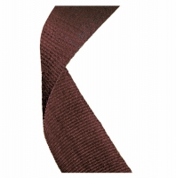 Medal Ribbon Brown Brown 7/8 x 32 Inch