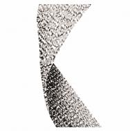 Glitter Ribbon Silver Silver Glitter 7 / 8 x 32 Inch