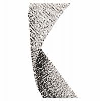 Glitter Ribbon Silver Silver Glitter 7/8 x 32 Inch