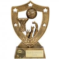 ShieldStar5 Netball Trophy Award AGGT 5 Inch