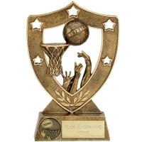 ShieldStar6 Netball Trophy Award AGGT 6 Inch