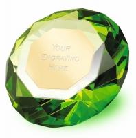 Clarity Green Diamond80 3 1 8 Inch H (8cm H) : New 2019