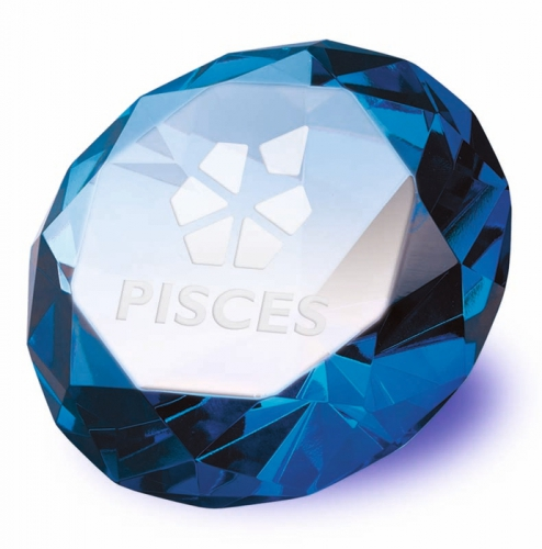 Clarity Blue Diamond100 Optical/Blue 100mm H