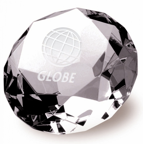 Clarity Diamond70 Optical Crystal 70mm H