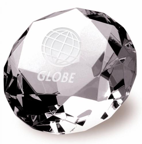 Clarity Diamond80 Optical Crystal 80mm H