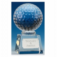 Victory6 Golf Ball Optical Crystal 6.75 Inch
