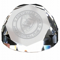 Diamond Dome65 PaperWeight Optical Crystal 70mm