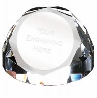 Diamond Dome65 PaperWeight 2.75 Inch (7cm) Diameter : New 2019