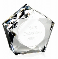 Diamond Star75 PaperWeight 3 Inch (7.5cm) : New 2019