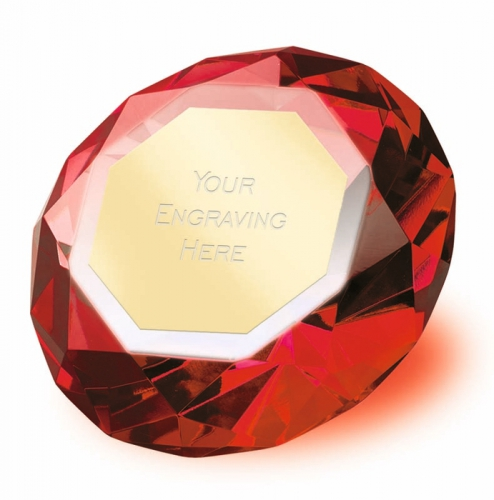 Clarity Red Diamond 2 3 8 Inch H (6cm H) : New 2019