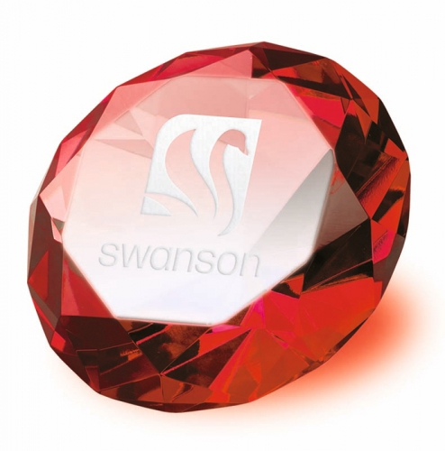 Clarity Red Diamond Optical/Red 80mm H