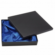 Silk Lined Presentation Box Black 115 x 115 x 35mm