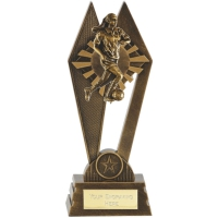 PEAK Football Trophy Awarder Female - AGGT - 8 7/8 (22.5cm) - New 2018