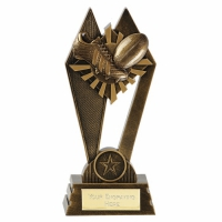 PEAK Rugby Trophy Award - AGGT - 6.75 Inch (17cm) - New 2018