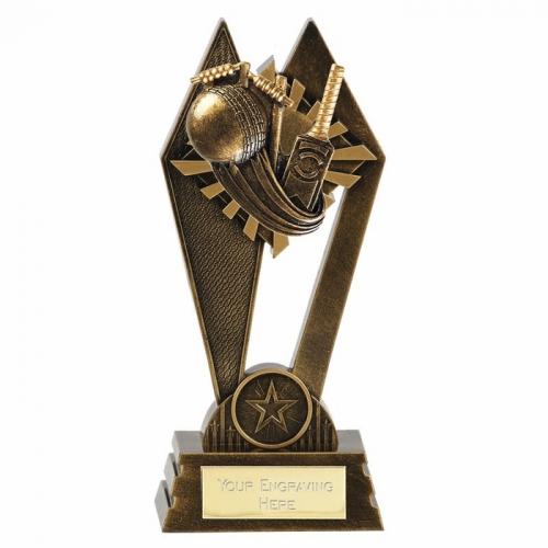 PEAK Cricket Trophy Award - AGGT - 7 Inch (17.5cm) - New 2018