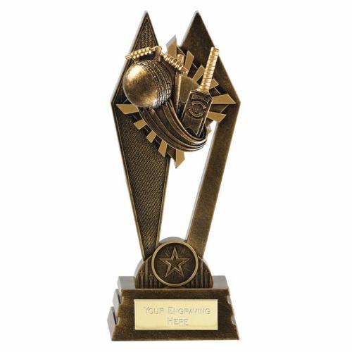 PEAK Cricket Trophy Award - AGGT - 8 Inch (20cm) - New 2018
