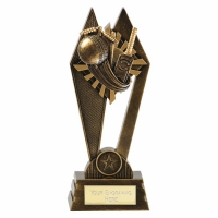 PEAK Cricket Trophy Award - AGGT - 8 7/8 Inch (22.5cm) - New 2018