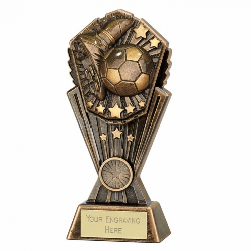 Cosmos Football Trophy Boot & Ball 8 Inch (20cm) : New 2019