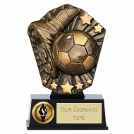 Cosmos Mini Boot & Ball Football Trophy 4 7/8 Inch (12.5cm) : New 2019