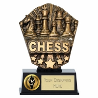 Cosmos Mini Chess 4 7 8 Inch ( 12.5cm) : New 2019