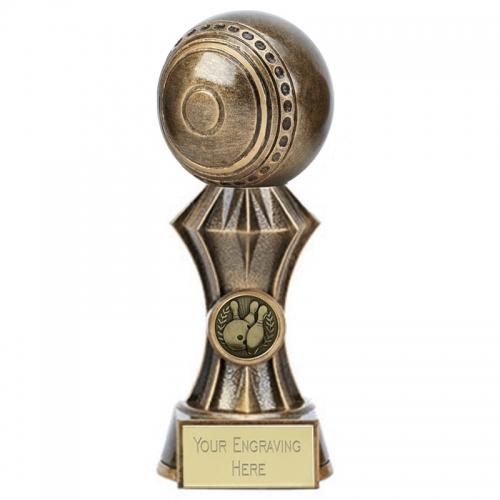 Diamond Lawn Bowls Trophy 7 Inch (17.5cm) : New 2019