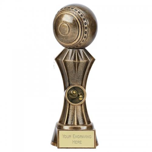 Diamond Lawn Bowls Trophy 9 Inch (22.5cm) : New 2019