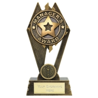 Peak Manager's Award 7 inch (17.5cm) : New 2019