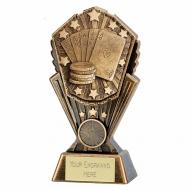 Cosmos Poker Trophy Award 7 inch (17.5cm) : New 2020