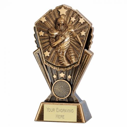 Cosmos American Football Trophy Award 7 inch (17.5cm) : New 2020