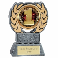 Force Resin 1st Place Trophy Award 4.5 Inch (11.5cm) : New 2020