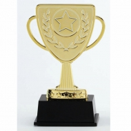 Lion Presentation Cup Trophy Award Gold 4 3/8 Inch (11cm) : New 2020