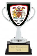 Bespoke Lion Presentation Cup Trophy Award Silver 4 3/8 Inch (11cm) : New 2020