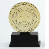 Vibe Super Mini Gold Trophy Award 3 3/8 Inch (8.5cm) : New 2020