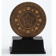 Vibe Super Mini Antique Gold Trophy Award 3 3/8 Inch (8.5cm) : New 2020
