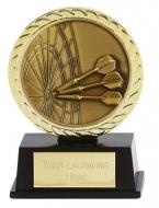 Vibe Super Mini Darts Trophy Award 3 3/8 Inch (8.5cm) : New 2020