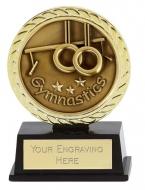Vibe Super Mini Gymnastics Trophy Award 3 3/8 Inch (8.5cm) : New 2020