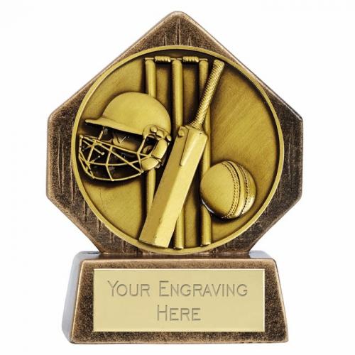 Pocket Peak Cricket Trophy Award 3.25 Inch (8cm) : New 2020