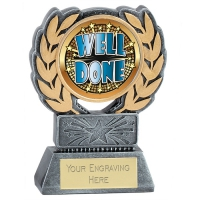 Force Resin Well Done Trophy Award 4.5 Inch (11.5cm) : New 2020