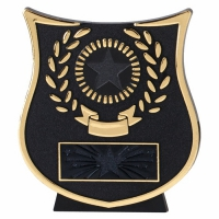 CURVE Gold Plaque - Gold/Black - 4.25 inch (10.5cm) - New 2018