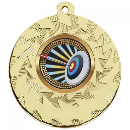 Prism50 Archery Medal Gold 50mm