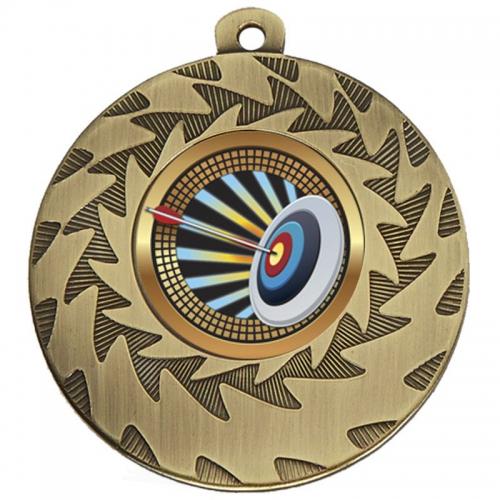 Prism50 Archery Medal Bronze 50mm