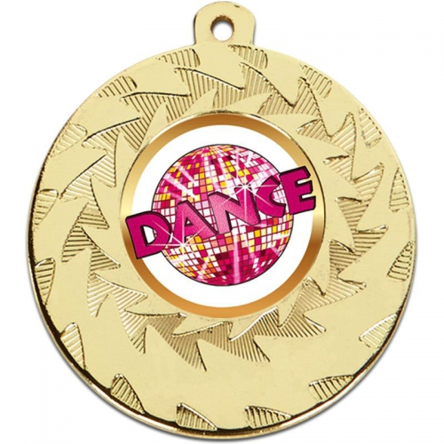 Prism Dance Medal - Gold - 50mm diameter- New 2018