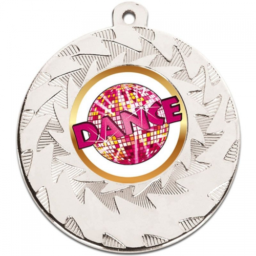 Prism Dance Medal - Silver - 50mm diameter- New 2018