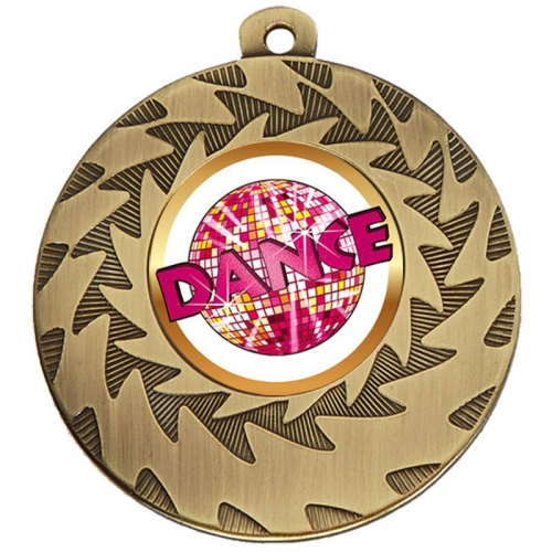 Prism Dance Medal - Bronze - 50mm diameter- New 2018
