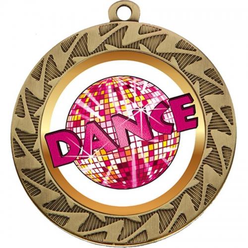 Prism Dance Medal - Bronze - 70mm diameter- New 2018