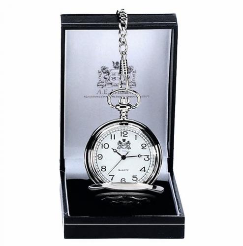 AE William Pocket Watch Silver 40mm