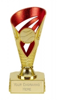 Voyager Presentation Cup Trophy Award Gold/Red 6 Inch (15cm) : New 2020