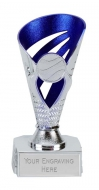 Voyager Presentation Cup Trophy Award Silver/Purple 6 Inch (15cm) : New 2020