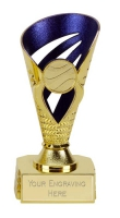 Voyager Presentation Cup Trophy Award Gold/Purple 6 Inch (15cm) : New 2020